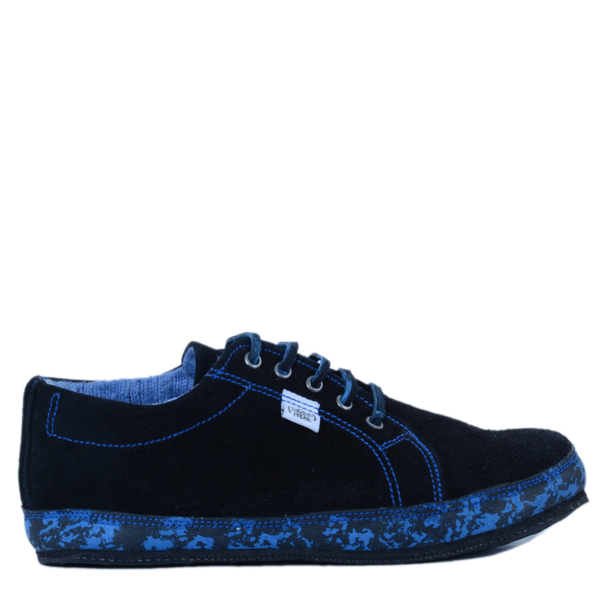 solerebels Blue urban runner JP Lace-Ups