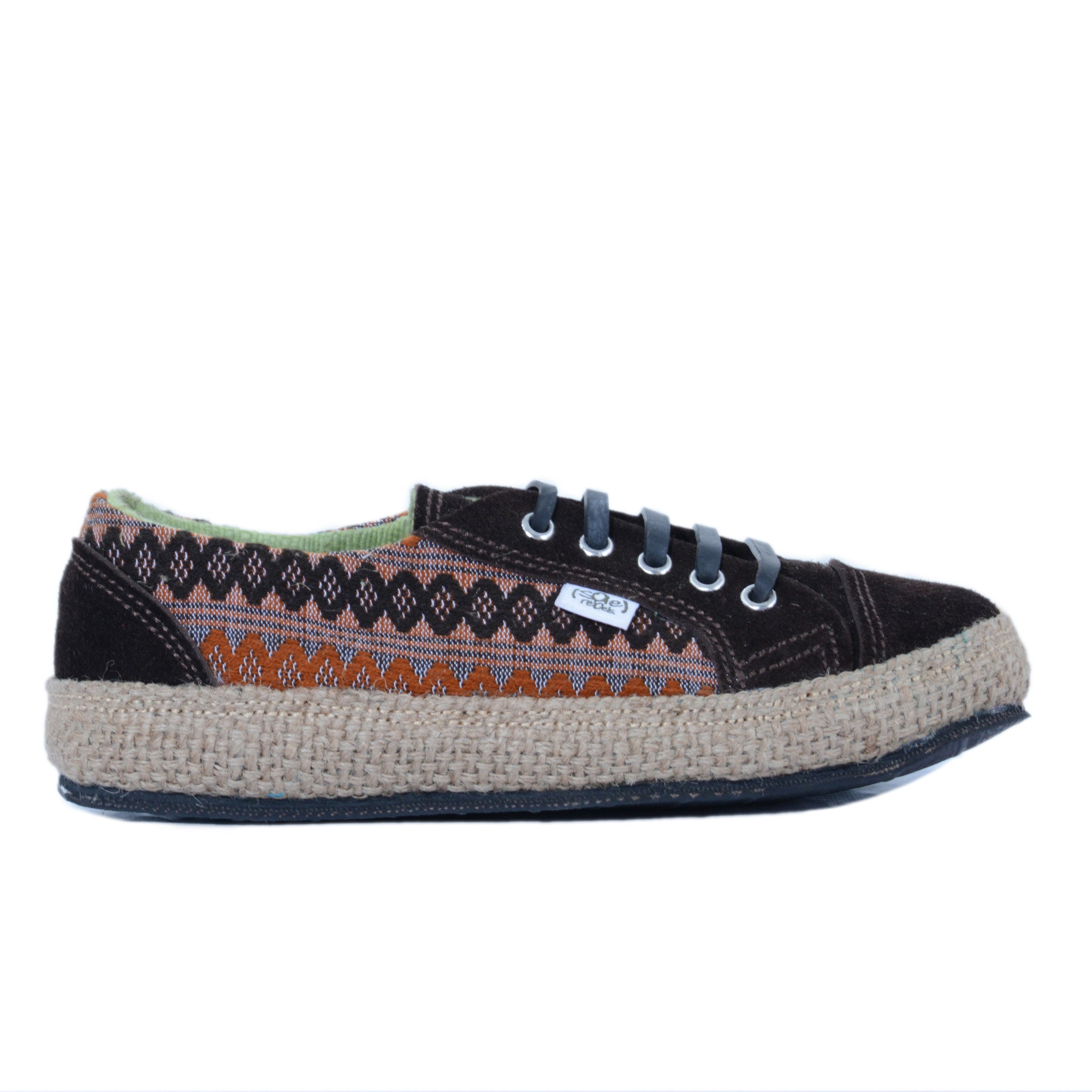 solerebels Brown urban runner kBa abp edition Lace-Ups
