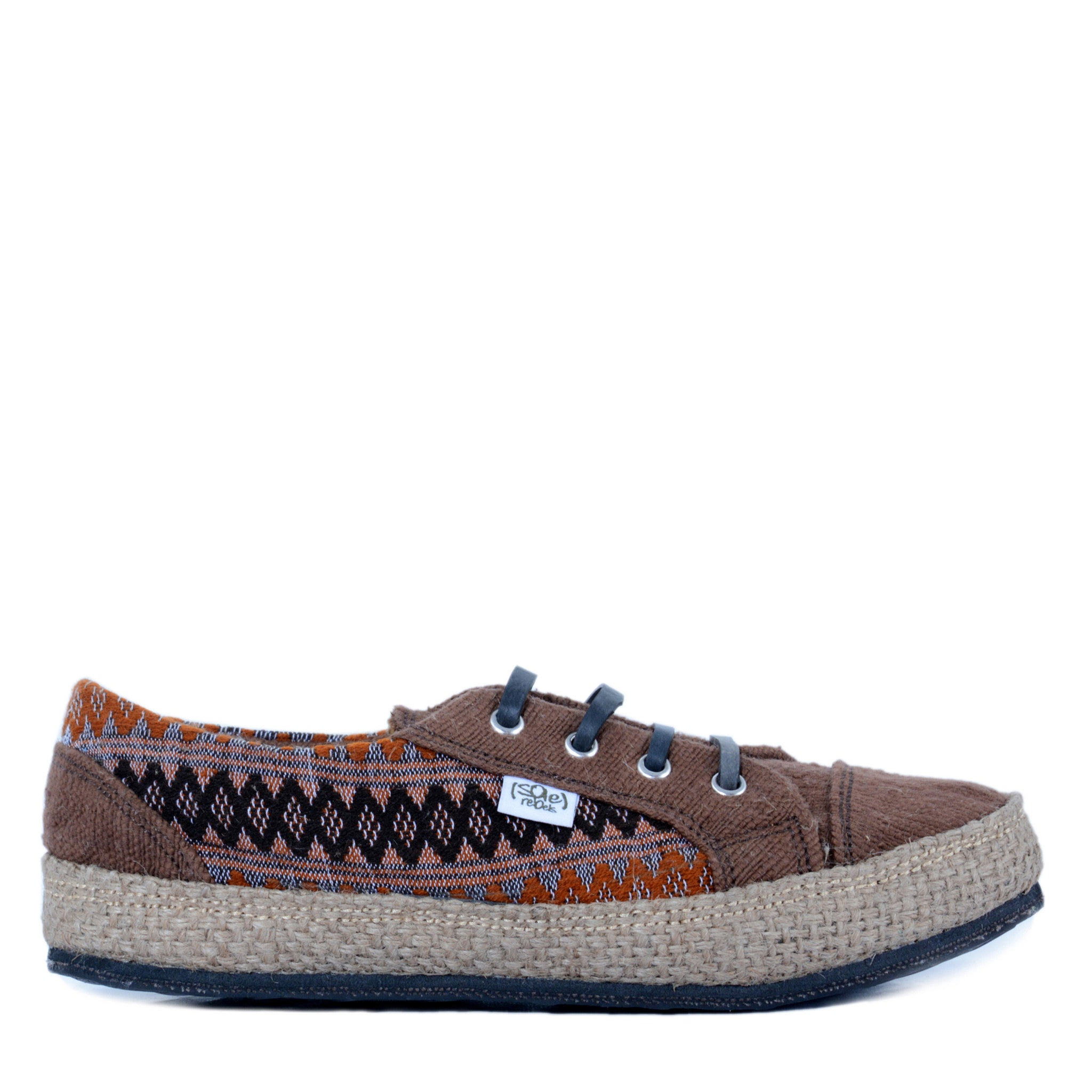 solerebels Brown urban runner kBa Lace-Ups