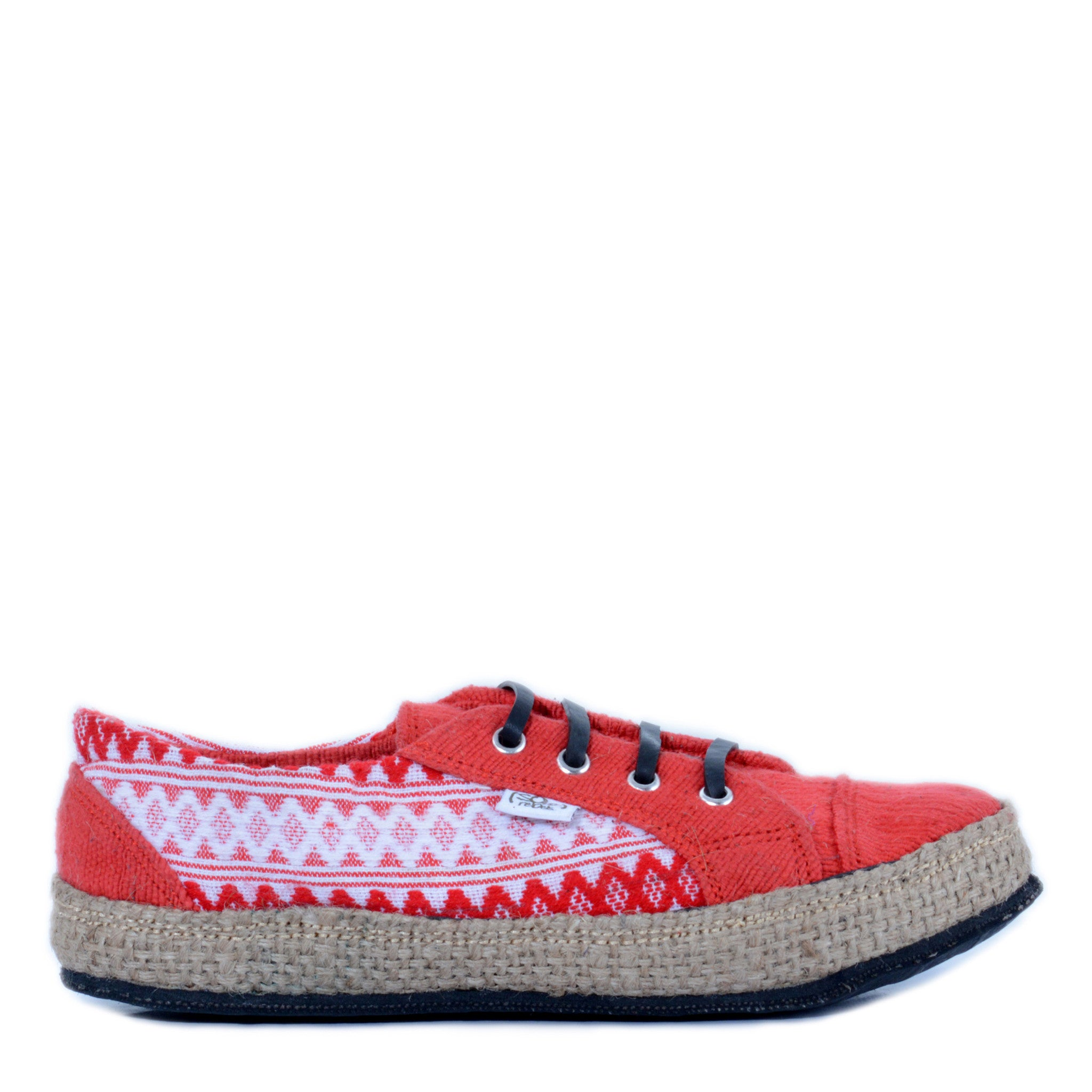 solerebels Red urban runner kBa Lace-Ups