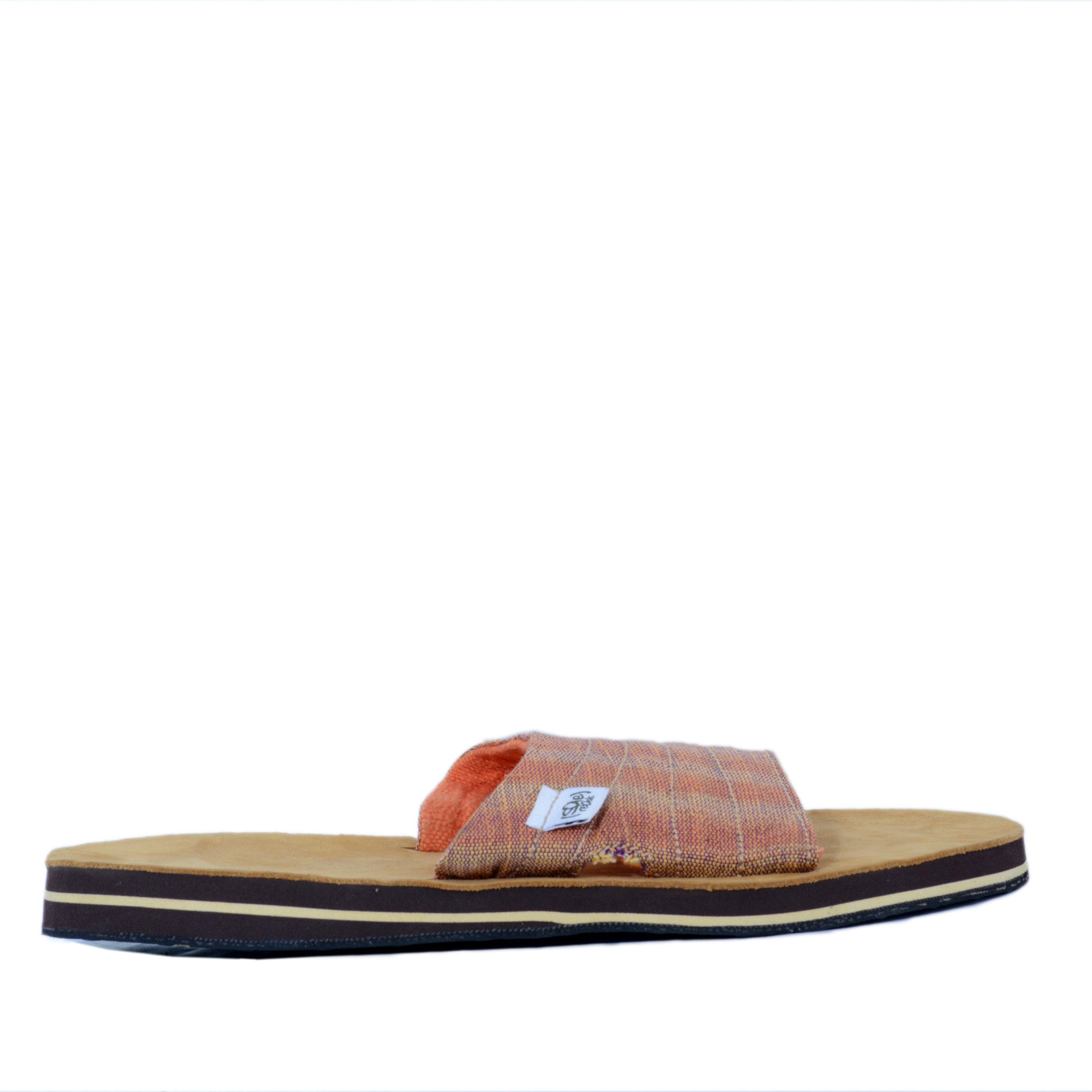 solerebels Orange zuck it 2 Sandals