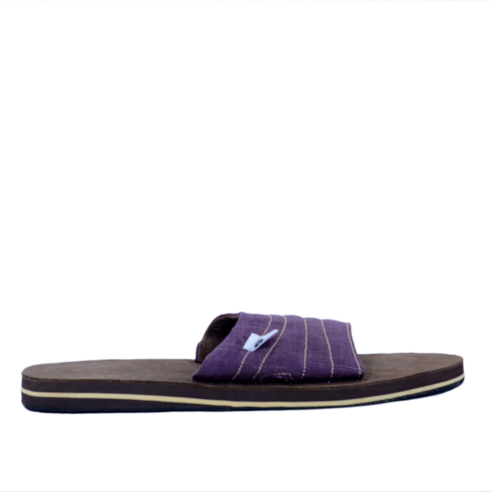 solerebels Purple zuck it 2 Sandals