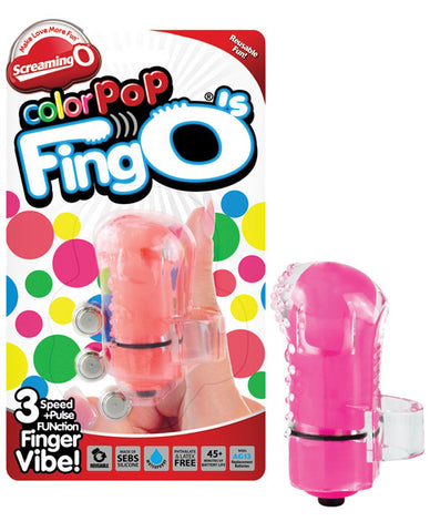 Screaming O Color Pop FingO - Asst. Colors