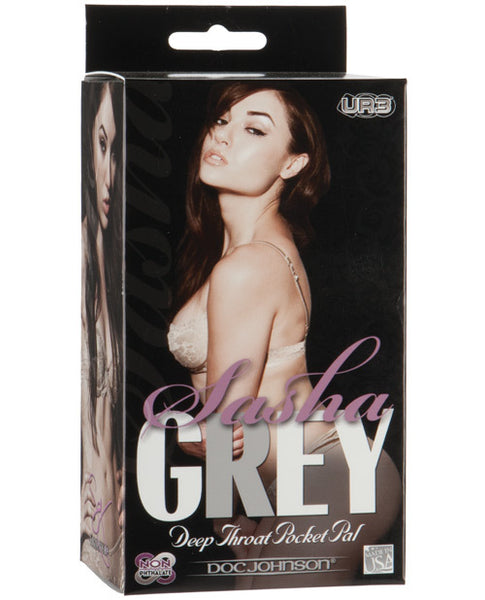 Sasha Grey Ultraskyn Deep Throat Sucker