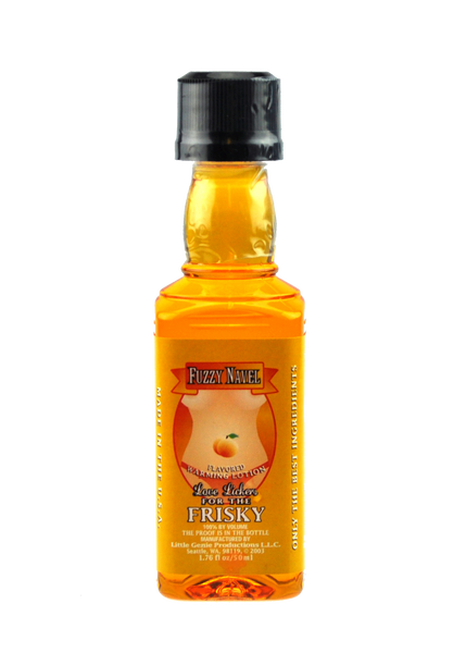Love Lickers Massage Oil - Fuzzy Navel - 1.76 Fl. Oz.