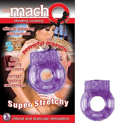 The Macho Vibrating - Cock Ring