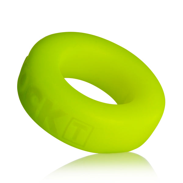 Cock T Small Comfort Cockring by Atomic Jock - Acid Yellow