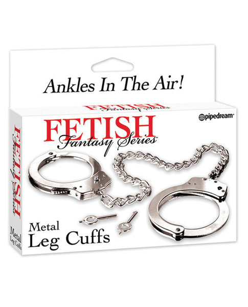 Fetish Fantasy Series Leg Cuffs - Silver
