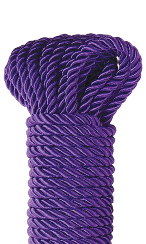 Fetish Fantasy Series Deluxe Silky Rope - Purple