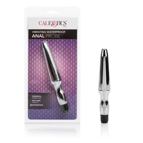Fujikos Waterproof Anal Probe - Silver