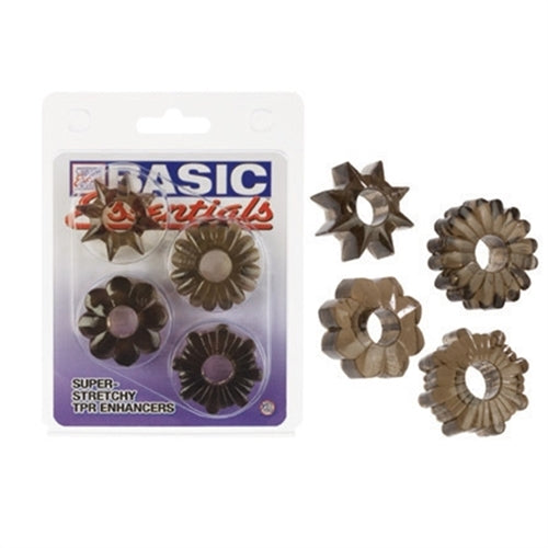 Basic Essentials 4 Pack - Smoke
