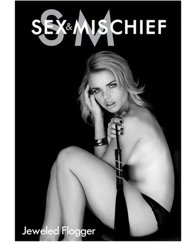 Sex & Mischief Jeweled Flogger