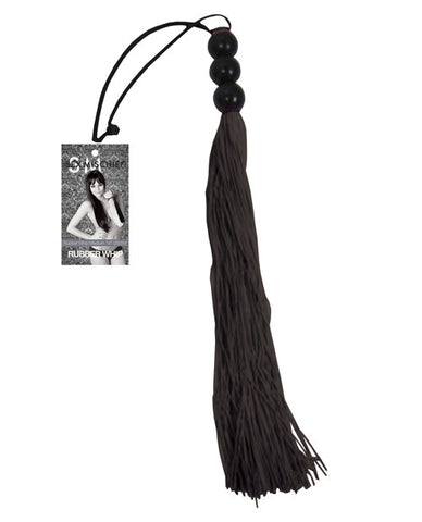 Sex & Mischief Medium Whip - Black