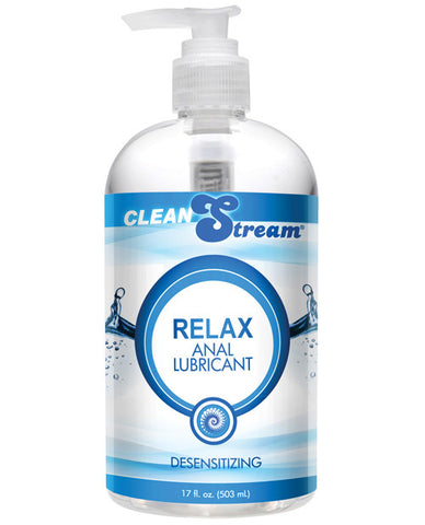 CleanStream Relax Desensitizing Anal Lube - 17 oz