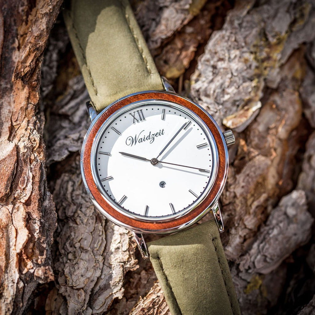 Alpine Spring time with leather strap
