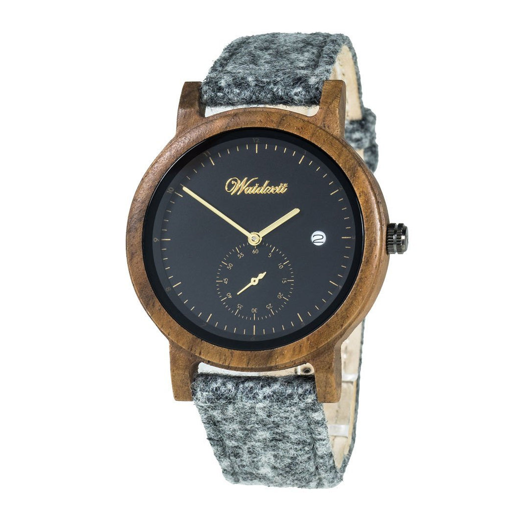 Maximilian Men Black with loden strap