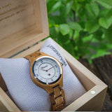 Waidzeit Design Wine princess nacre dial crystals Austrian Design Barrique wine barrel giftidea gift for her upcycling wooden watch lady watch