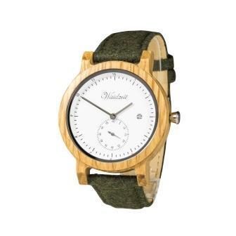 Barrique Alpine Men white with loden strap