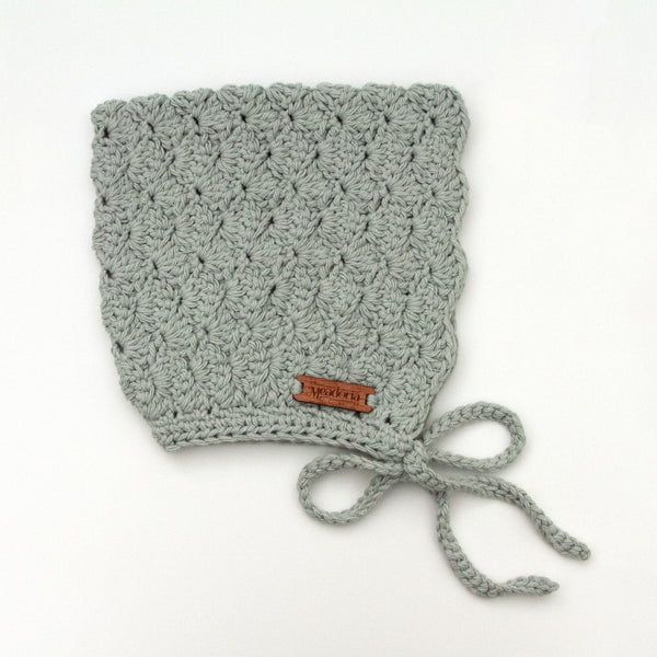 Winter Bonnet Finsley Light Gray by Meadoria