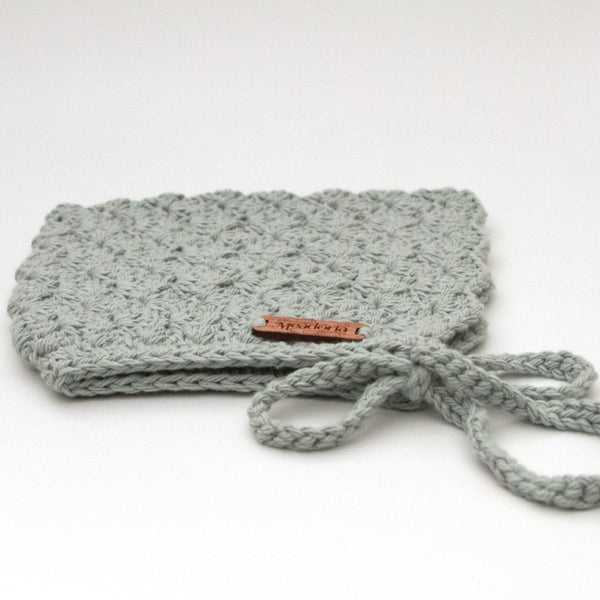 Meadoria Winter Finsley Bonnet Light Gray