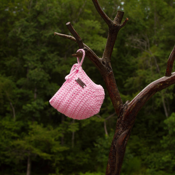 Crochet Rio Bonnet Pink for Baby Girl