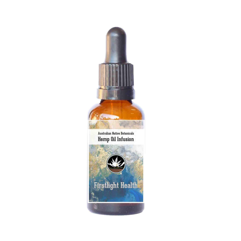 Hemp & Lemon Myrtle Oil Dropper Bottle - 30ml