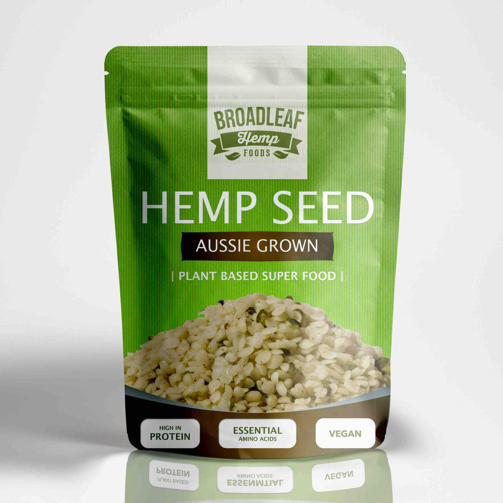 Australian Hulled Hemp Seeds (500g)