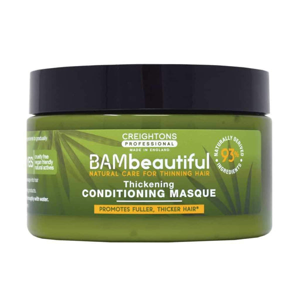 Styling - Bambeautiful Hair Thickening Conditioning Masque 250ml, how to thicken hair, hair thickening products that actually work, hair thickening products