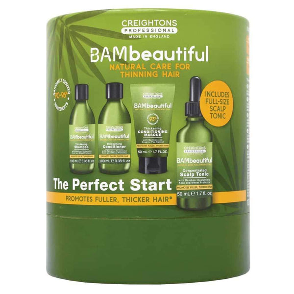 Styling - Bambeautiful The Perfect Start Set, best hair thickening shampoo, how to thicken hair, hair thickening products that actually work, hair thickening products, hair thickening shampoo