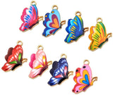 Assorted Colorful Plated Alloy Enamel Multi style Pendant Charm for DIY Jewelry Making Necklace Bracelet Earring DIY Jewelry Accessories Charms (10pcs Random Cats) - CatsInHeart