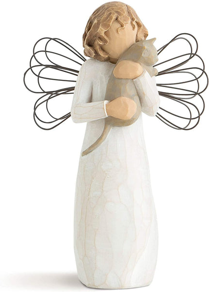 Willow Tree with affection Angel, Sculpted Hand-Painted Figure - CatsInHeart