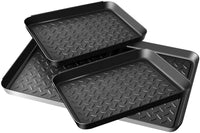 Enyeezion Boot Tray - Heavy Duty Shoe Mat Trays, Dog Bowl or Cat Bowl Mats Trap Mud, Water and Pet Food Mess to Protect Floors - CatsInHeart