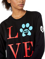 Skechers Women's Bobs for Dogs and Cats Cozy Pullover Top - CatsInHeart