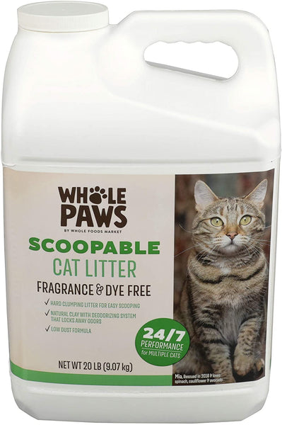 Whole Paws Scoopable Cat Litter, 320 OZ