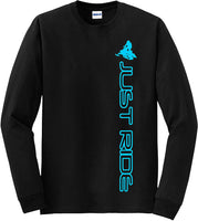 Just Ride Sled Shirt Long Sleeve - CatsInHeart