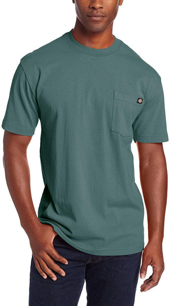 Dickies Men's Heavyweight Crew Neck Short Sleeve Tee Big-Tall - CatsInHeart