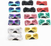 PET SHOW Small Pet Topknot Dogs Hair Bows with Clips for Short Hair Pets Costumes Dog Fur Accessories Assorted Colors