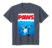Paws Cat and Mouse Top, Cute Funny Cat Lover Parody Top T-Shirt - CatsInHeart