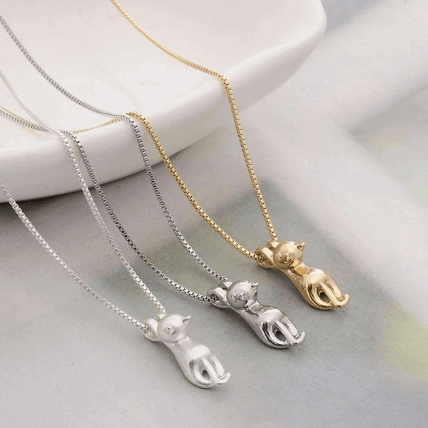 Fashion Cute Cat Necklace & Pendant For Women