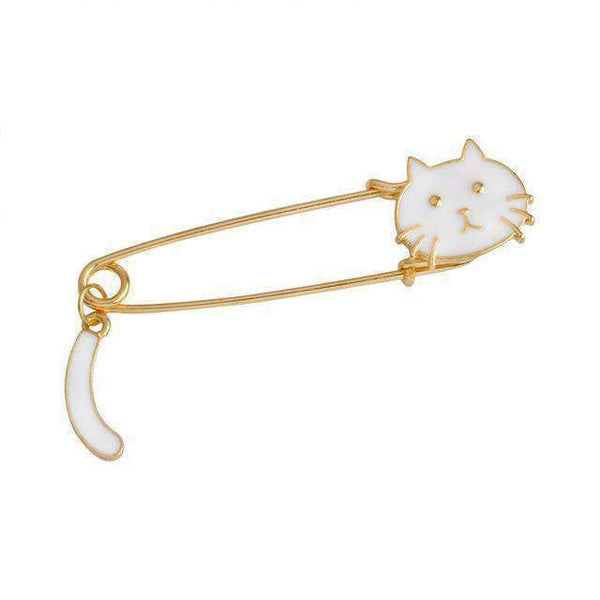 Cat Head Pins