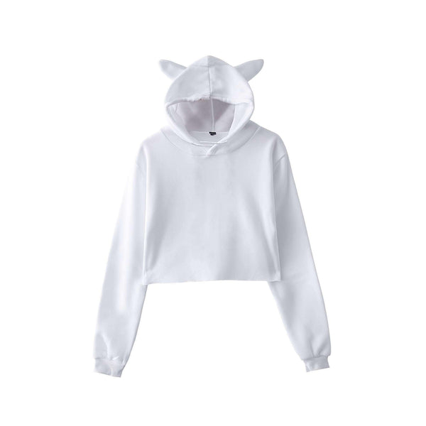 Cute Cropped Hoodies