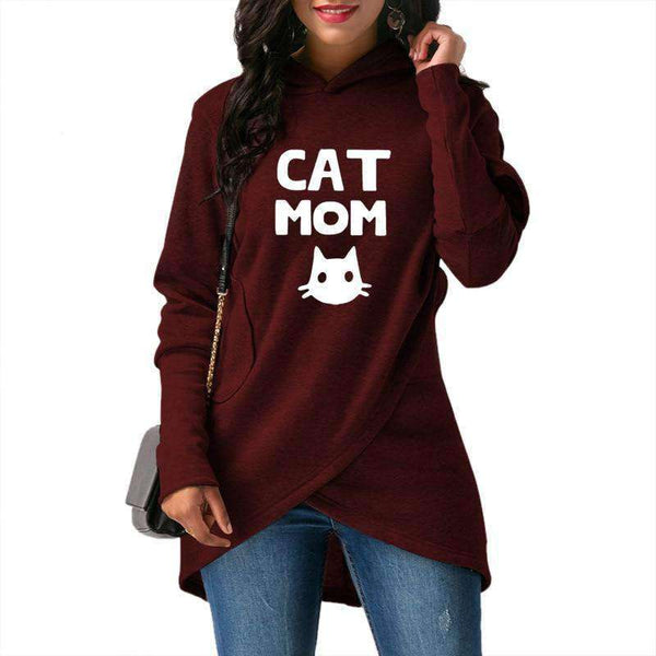 2019 Spring and Autumn Women's New Hoodie Fashion Women's - CatsInHeart
