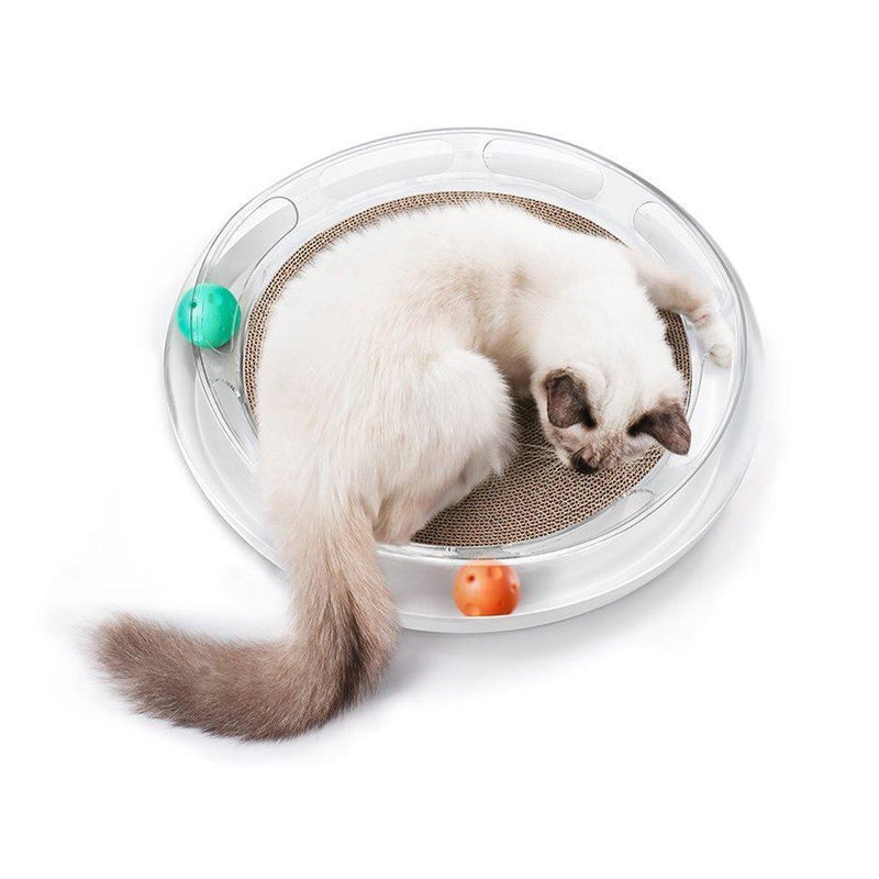 PETKIT ® 'Swipe' Interactive Cat Scratcher And Chaser Lounger Toy