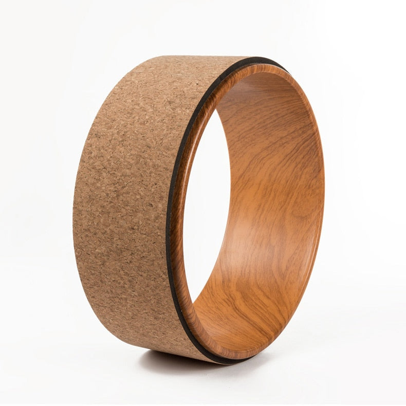 Eco-friendly Cork Yoga Wheel