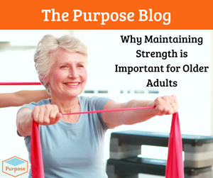 Why Maintaining Strength is Important for Older Adults