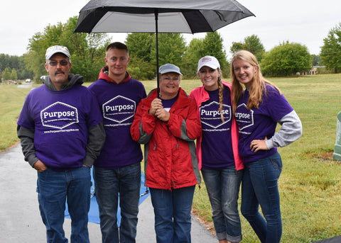 The Walk to End Alzheimer's Purpose Therapy Box Team