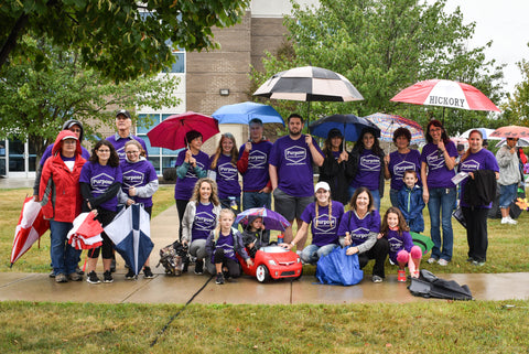 Walk to End Alzheimer's 2018 Purpose Therapy Box Team