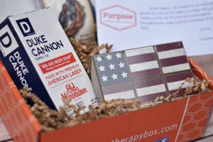 Purpose The Therapeutic Subscription Box, LLC Thinking of You Box Mens version- contains beer soap