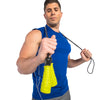 Male holding Pro Speed Rope