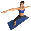 Female doing Warrior 2 Pose on Double Thick Yoga Mat